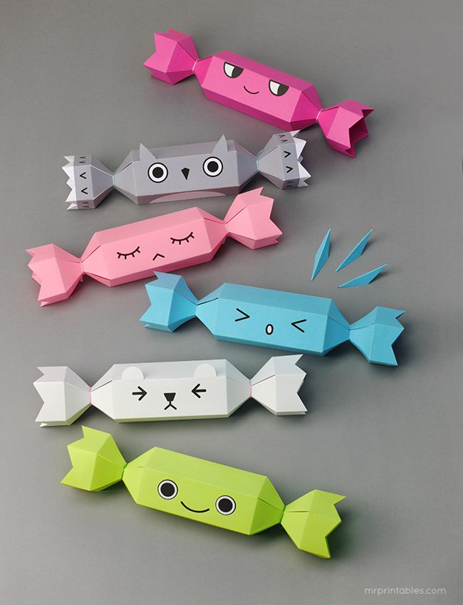 Meet the Crackers! Christmas cracker templates for kids / Mr Printables