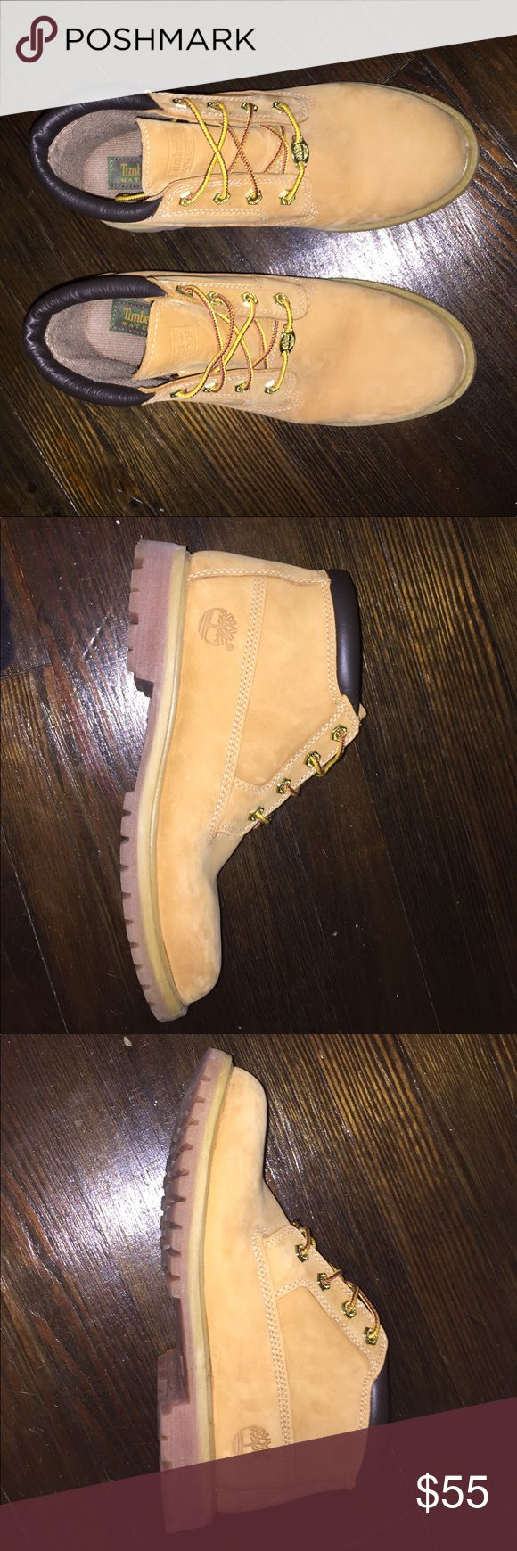 Women's Timberland Chukka Low Like new. Only worn twice. Perfect for the upcoming winter season. Timberland Shoes Winter & Rain Boots