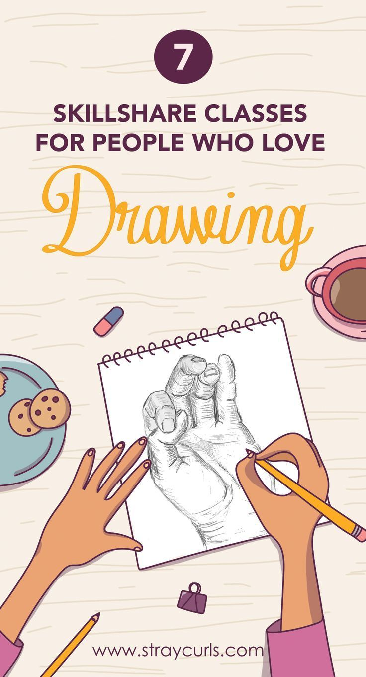 7 Drawing Classes on Skillshare You Must Take + FREE Trial ...