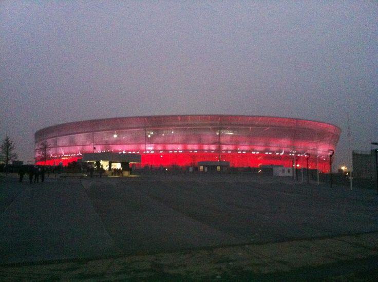 biało-czerwony Stadion Miejski we Wrocławiu 15.11.13