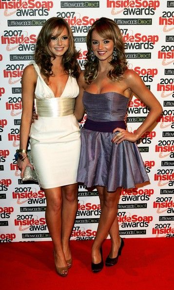 Kara Tointon Photos Photos - (UK TABLOID NEWSPAPERS OUT) Actresses and sisters Hannah (L) and Kara Tointon attend the Inside Soap Awards 2007 at Gilgamesh, Camden on September 24, 2007 in London, England. - Entertainment Pictures Of The Week - 2007, September 27