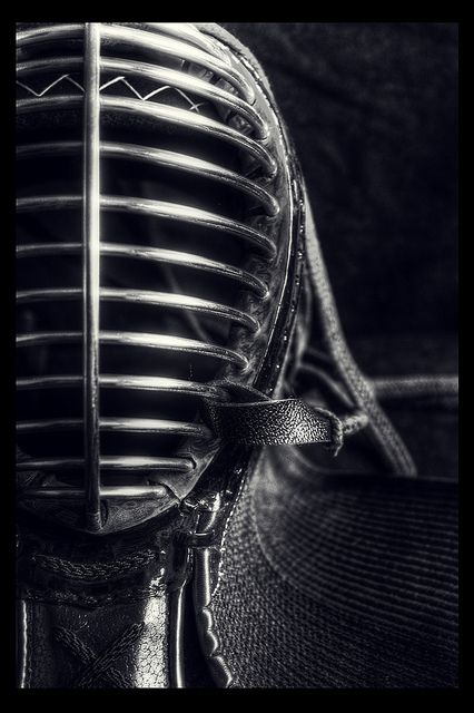 Japanese fencing -Kendo. S) Close up resembles architectural details. @Shon Montoya via S.V.M. Enari-Potter