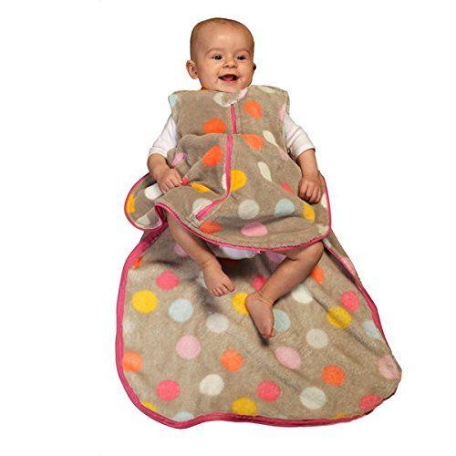 Gunamuna Fleece Gunapod Wearable Baby Sleepsack, Charcoal //Price: $26.59 & FREE Shipping //