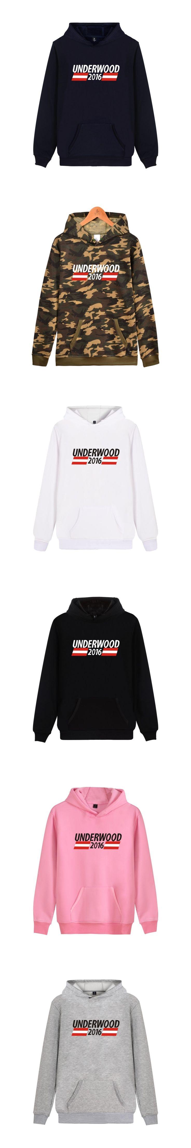 Wangcangli 2016 House Of Cards Casual  Heavy Metals Hoodies Fashion Men Cap Hooded Sweatshit Leisure Clothes Plus Size XXXXL