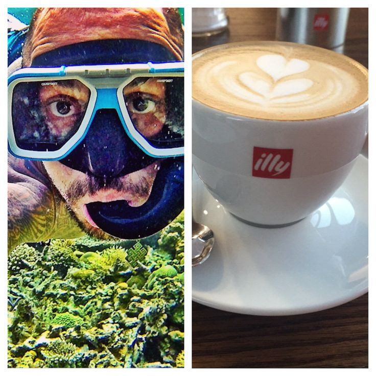 I definitely need snorkel glasses and coffee when I travel