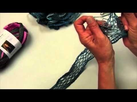 Aprender a hacer ganchillo con Sashay™ hilos de Red Heart® - YouTube