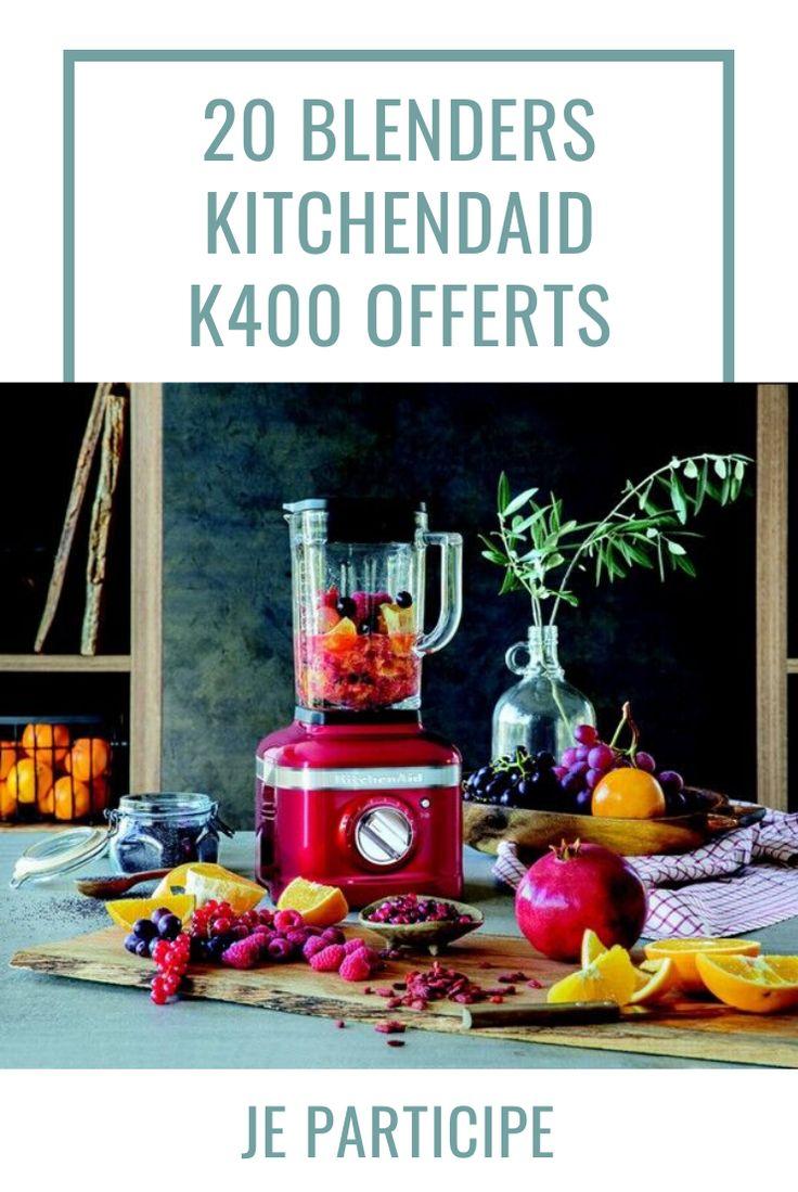 kitchenaid blender white k400