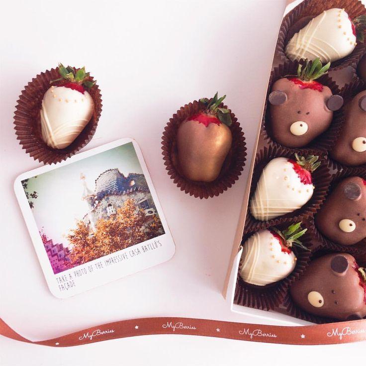 216 отметок «Нравится», 1 комментариев — Клубника в шоколаде СПб (@myberries.spb) в Instagram: «Наборы на 16 ягод - 1400₽. Звоните, заказывайте заранее, чтобы наши медвежата свеженькие и в срок…»