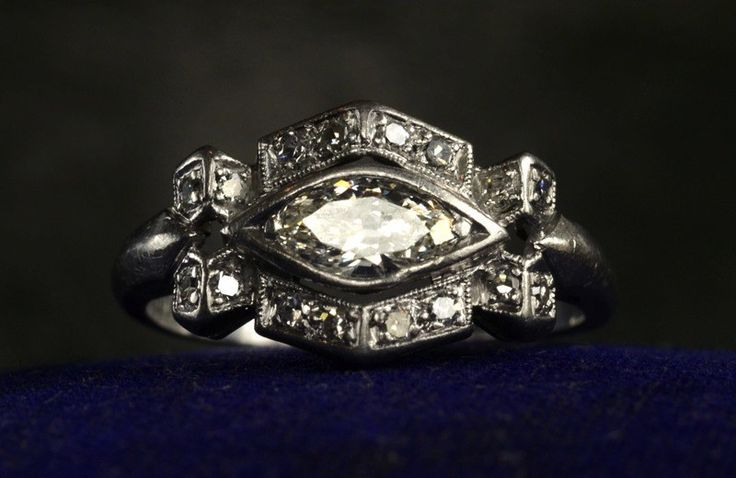 23 Vintage Engagement Rings 1920s Design | Wedding Ring
