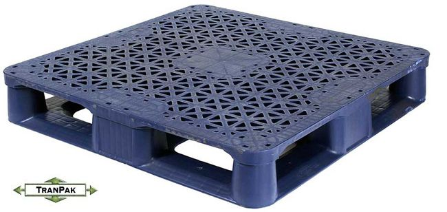 Snap Lock 37x37 Reusable Plastic Pallets