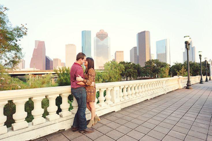 Houston Engagement Photographer | Discovery Green Houston Engagement Photos: Anna & George | Kreative Angle Photography - Houston Wedding Photographer