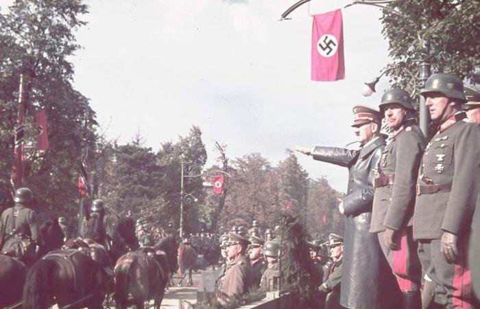 Foto colorida da 2º Guerra Mundial