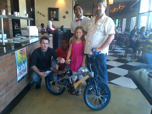 Mikes Kitchen - Mikes Kitchen Competition Winners - Easter Bicycle Winner
