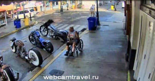 Ки-Уэст, улица Duval Street, штат Флорида, США