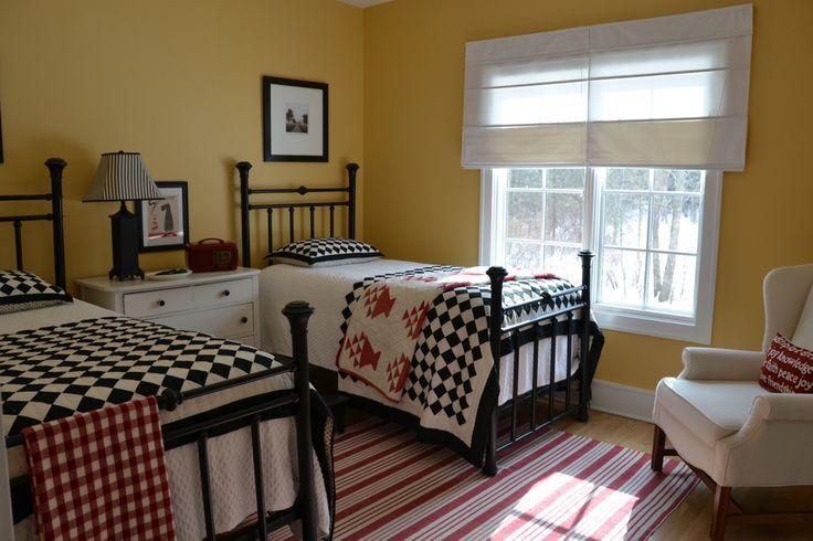 Kids Bedroom Sets The Playroom And Bedroom Combined Diy Room Ideas Twin Beds Guest Room Home Bedroom Guest Bedrooms