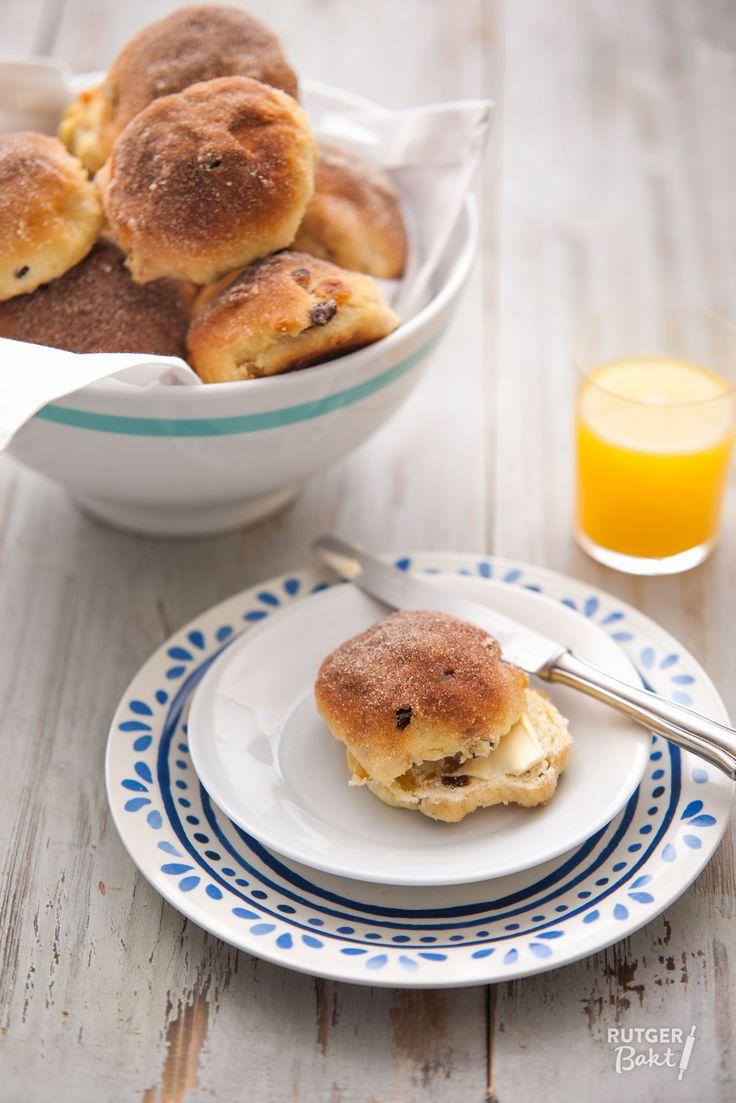 Recept: Kwarkbroodjes met rozijnen en abrikozen / Recipe: Cottage cheese breads with abricots and raisins
