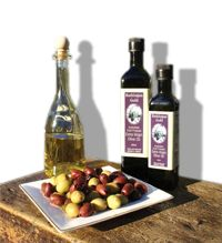 More from the Shed Cafe!    Their olive grove features 1200 trees featuring six different olive varieties. Their cafe features a hearty country menu and generous serves of their luscious olives.  YUM!