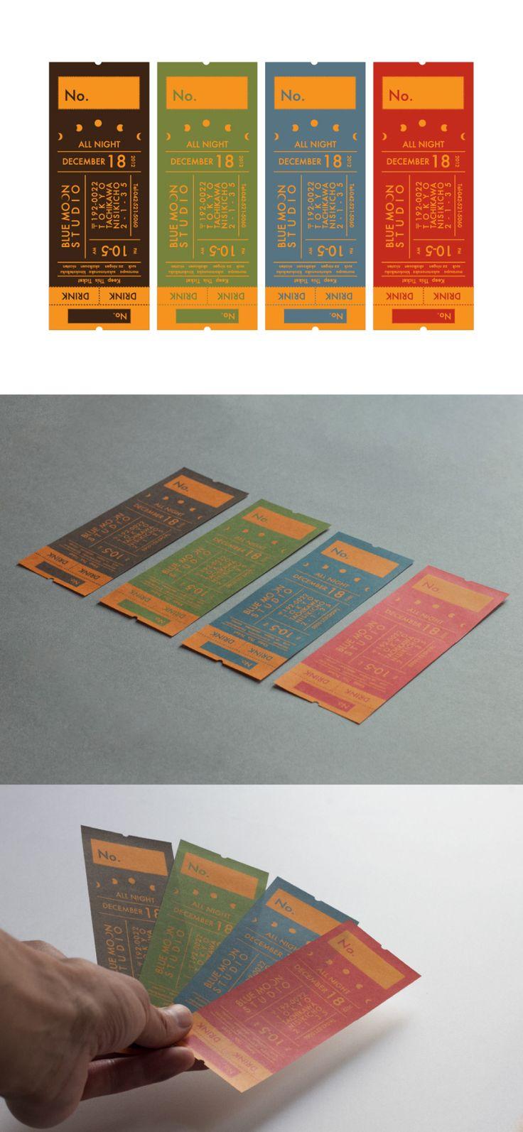 ライブチケット (東京)Graphic Design | 2013   Live Ticket Design | 2013 | HAM EGG STUDIO