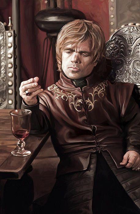 Tyrion Lannister - Peter Dinklage Game Of Thrones Artwork