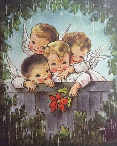 1955 Christmas Card