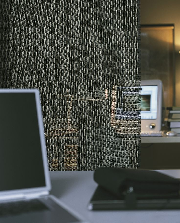 Woodnotes Wave panel fabric is 100% paper yarn, col. stone-black.