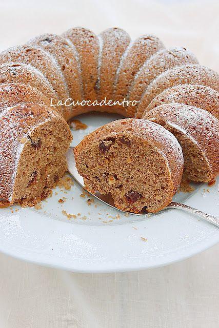 Cake alla farina di castagne
