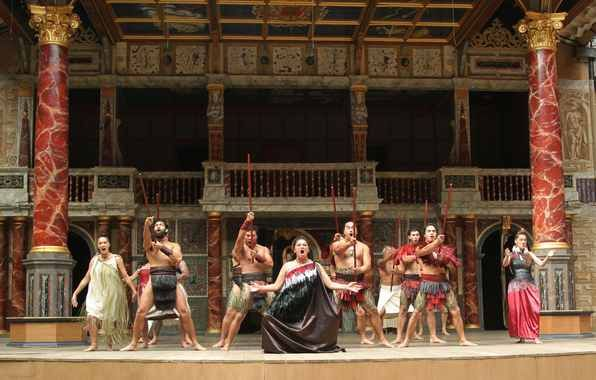 Māori haka ignites Shakespeare festival in London