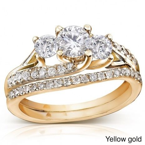 Cheap Gold Wedding Rings Sets