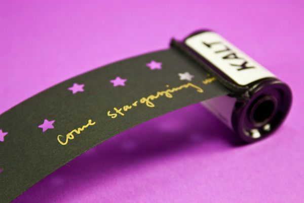 Turn old film canisters into letters, a very nifty idea from Photojojo.