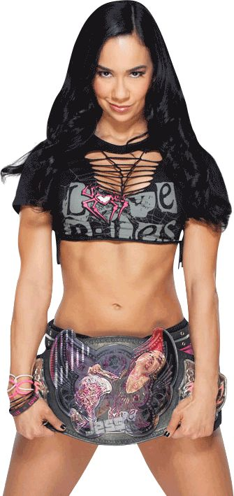 AJ Lee Psycho GIF | love that angels face and the devils grin...