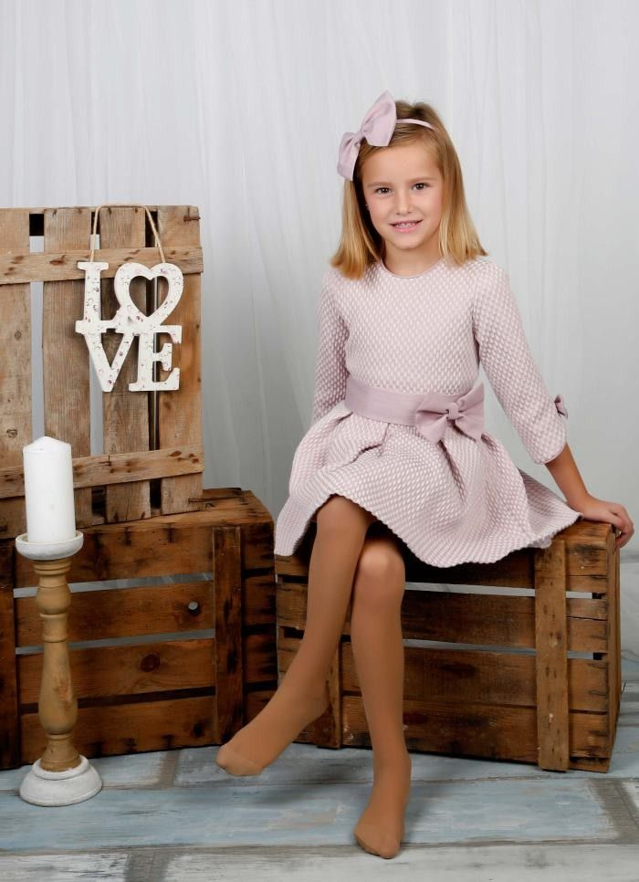 Vestido niña Princesa LArmariet de Blanca