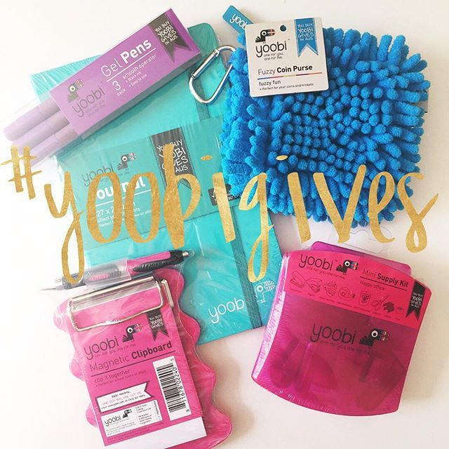 Make sure you stock up on @yoobiaustralia supplies at @officeworks for all your back to school supplies! Every Yoobi supply that is purchased, one will be donated to an Aussie kid in need through the @_thesmithfamily ✂️️️ #yoobigives    #Regram via @misstessclassroom