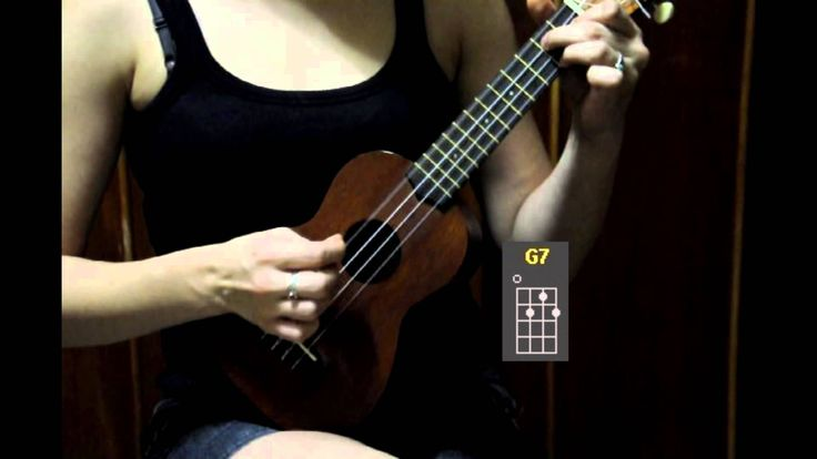 LOVE THIS TUTORIAL! SUPER SIMPLE! Ukulele Tutorial for Beginners - Dream a Little Dream of Me