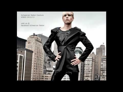 Schwarzer Reiter Vibes 2012/13 Look3!Schwarzer Reiter Couture, New Campaign shot in New York, Model Markus Kenzie, Model Patrizia Cavaliere, Foto by Sabine Schwarz, head of Design Edin DeSosa, Lable Schwarzer Reiter Berlin. Name of Campaign VIBES 2012/13! Enjoy!