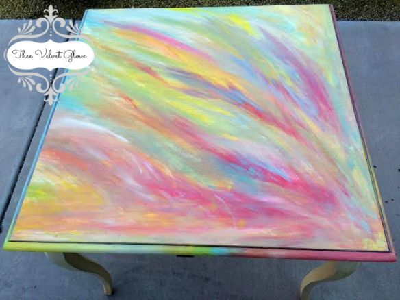 Diy Dining Table Redo Color Combos