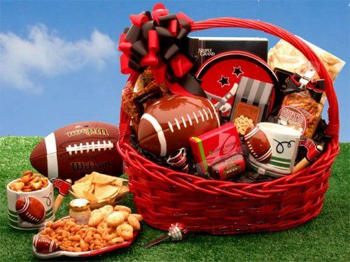 Fantasy Football Gift Basket of Gourmet Snacks -Great Holiday, Birthday, or Father's Day Gift Idea - http://www.specialdaysgift.com/fantasy-football-gift-basket-of-gourmet-snacks-great-holiday-birthday-or-fathers-day-gift-idea/