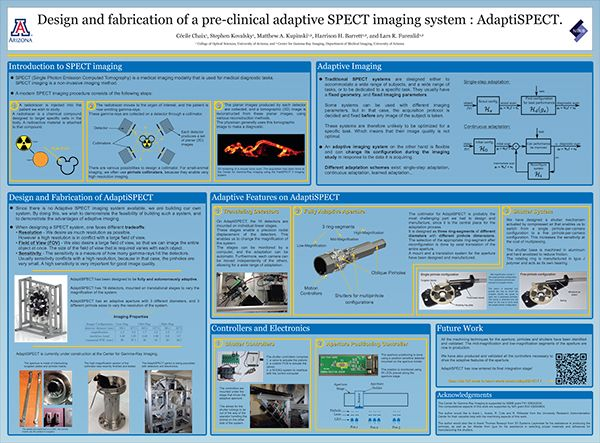 GPSC Student Showcase 2014: Design and fabrication of a preclinical adaptive SPECT imaging system : AdaptiSPECT