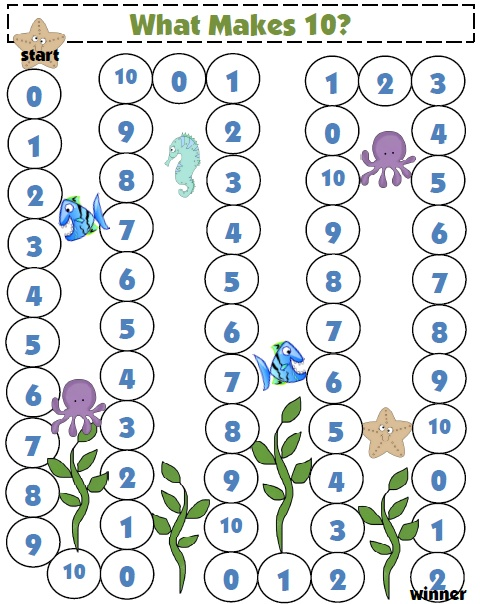 FREE Game: What Makes 10?