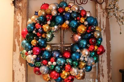 Elizabeth & Co.: Ornament Wreaths tutorial
