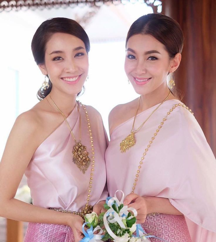 Mejores 354 imágenes de Thai style dress . en Pinterest | Estilo ...