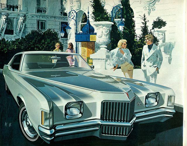 1971 Pontiac Grand Prix.