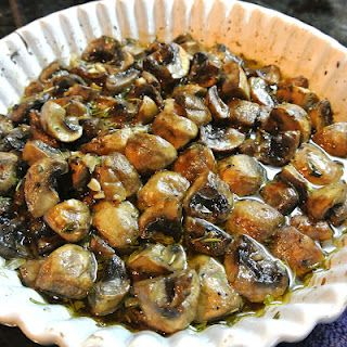 Roasted Mushrooms Recipe for your Easter Brunch.