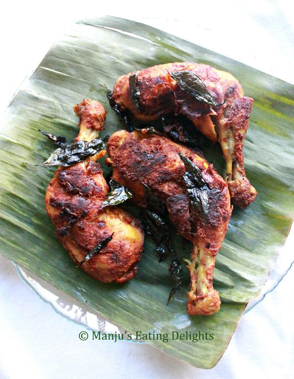 Manju's Eating Delights: Kerala style spicy Chicken Fry ... and a thank you for 100,000+ hits!