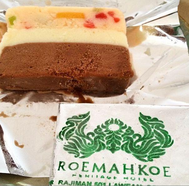 'Es Krim Tempo Doloe' at Roemahkoe Restaurant. Indonesian dessert on #APSDAday2 #LiveFromAPSDA2014 pic of @diananazir