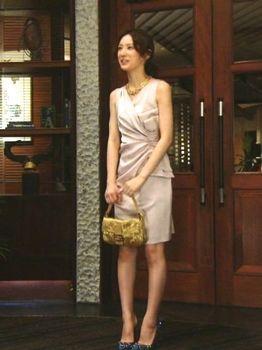 TVドラマ「独身貴族」北川景子さんのドレススタイル の画像|大人ファッションで自分にめざめる!イメージブランディング