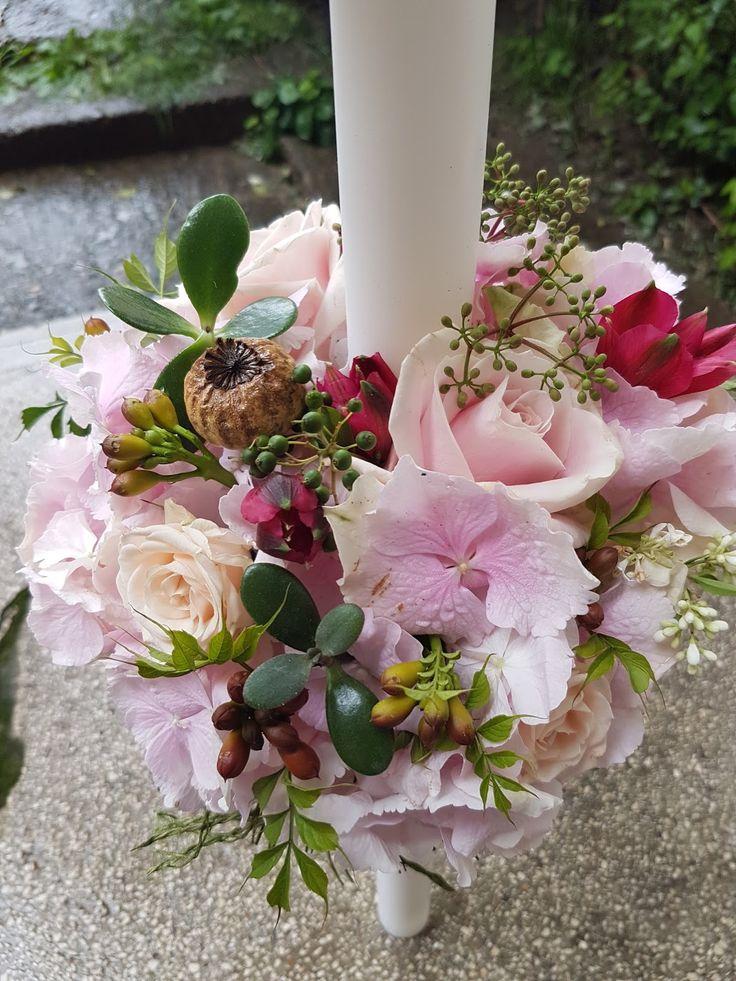lumanare-botez-fetita-roz-mov-hortensie-bujori-maya-flowers-iasi1.jpg (1200×1600)