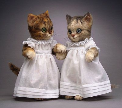 Moppet And Mittens Beatrix Potter Collection Cat Doll