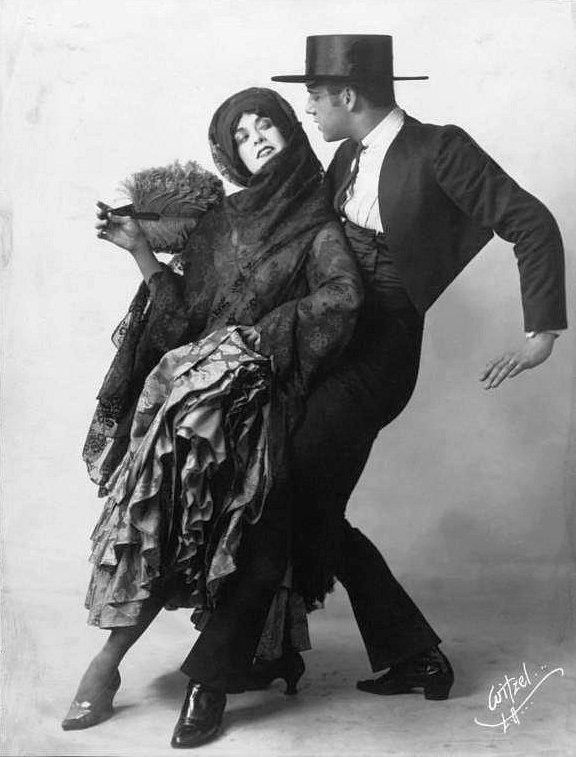 Martha Graham and Ted Shawn, 1922.
