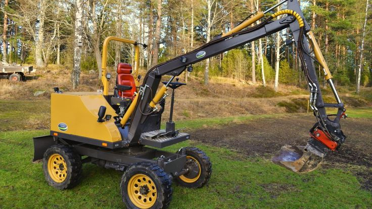 Homemade Excavator Fodere In 2019 Homemade Tractor