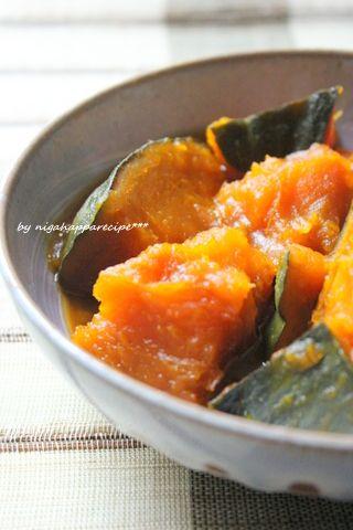 ほっくり美味しいかぼちゃの甘辛煮 | 美肌レシピ